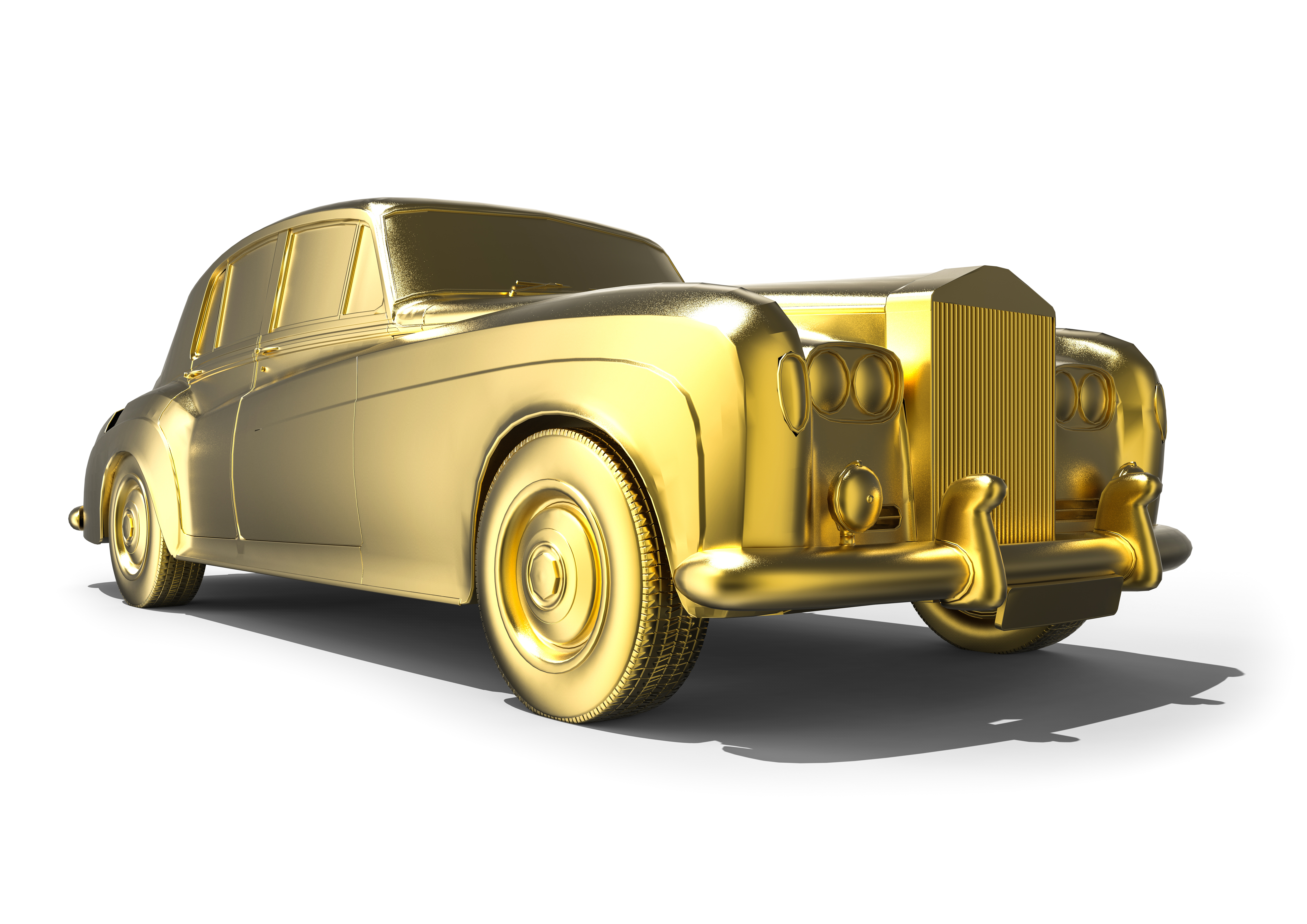 gold rolls royce - Event Limousines
